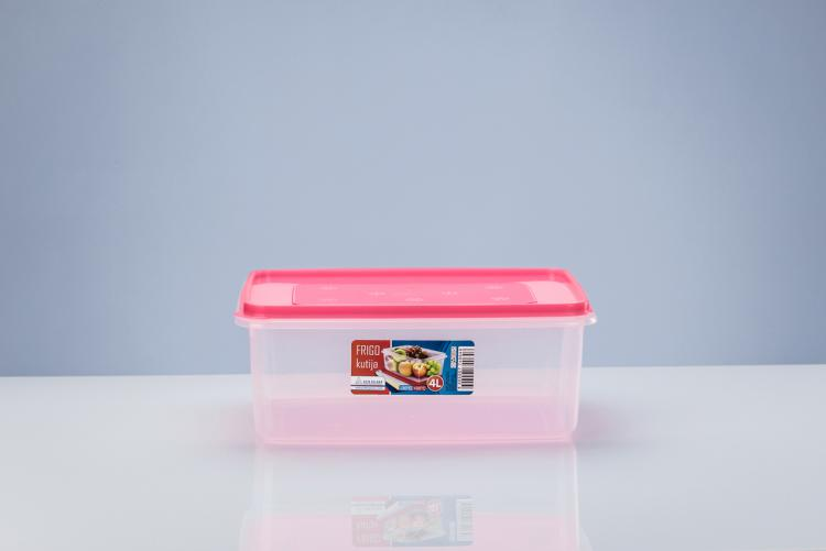 Frigo boxes with multi-color lids